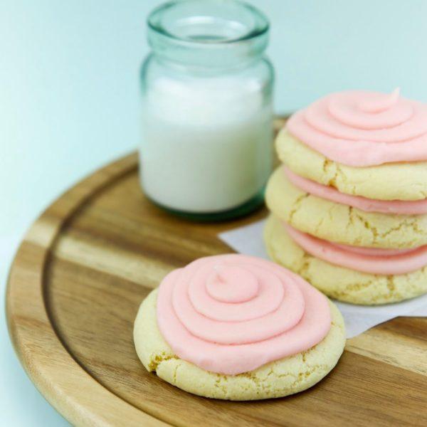 Pink Sugar Cookie