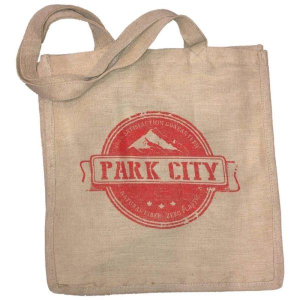 jute bag park city
