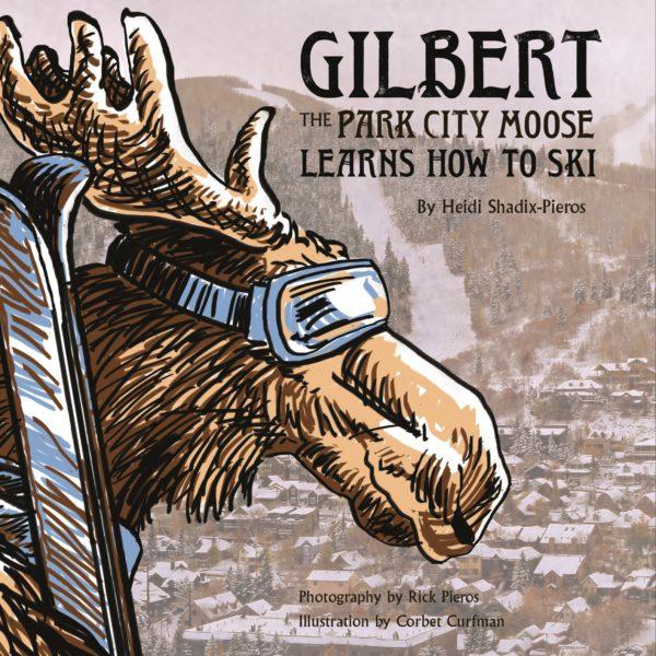 Gilbert PC Moose Learns How To Ski
