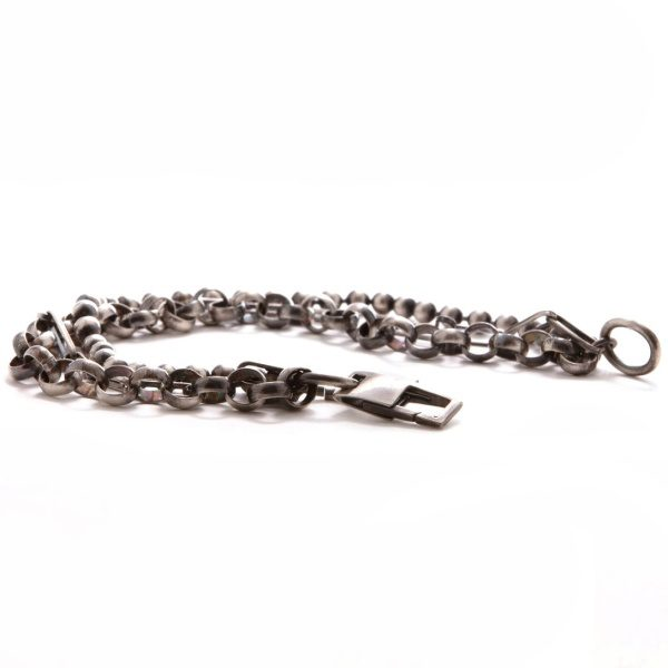 Silver Mixed Link Bracelet3