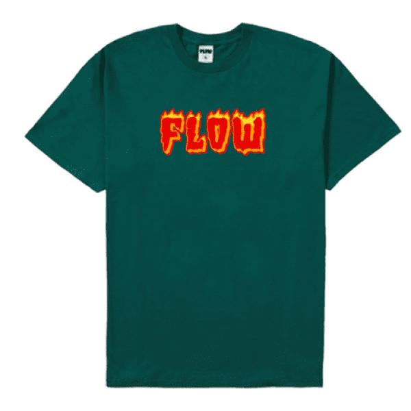Flame T Dark Green