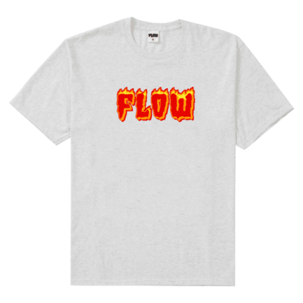 Flame T Grey